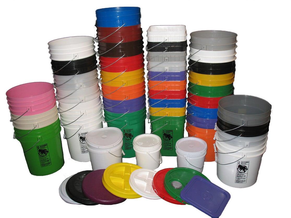Plastic Buckets & Pails: Affordable Buckets | Custom Order