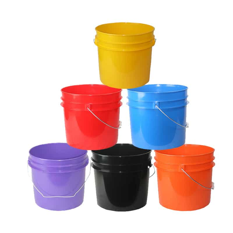 plastic buckets pails affordable buckets custom order label