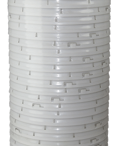 Natural plastic lid with gasket and tear tab fits 3.5 gallon, 4.25 gallon, 5 gallon, and 5.25 gallon round pails