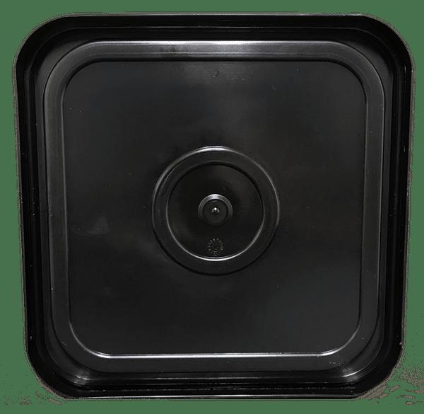 Press On Square Lid Fits 4 Gallon Bucket No Tear Tab