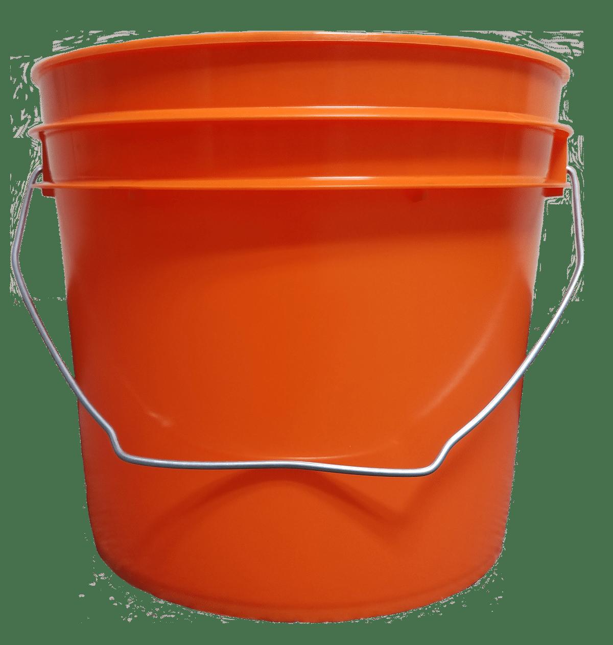 Bulk 1 Gallon Round Plastic Buckets W Wire Bale Handle